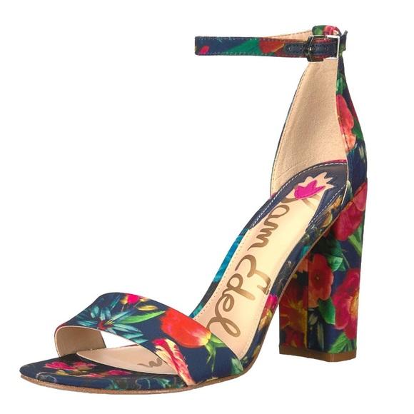 d06073d58275 NWT ✨HP✨ Sam Edelman Yaro Block Heel Sandal Floral